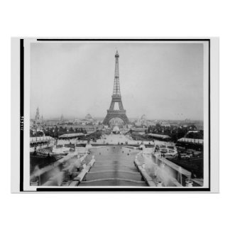 Eiffel Tower Poster 1889