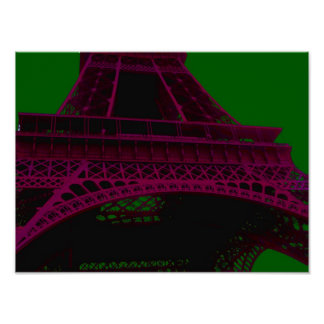 Eiffel Tower ~ Poster / Print