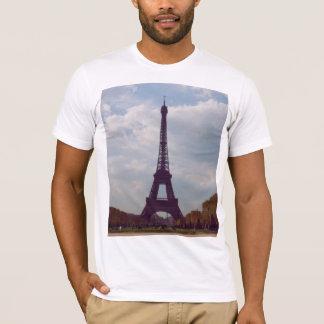 Eiffel Tower Print T-Shirt