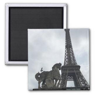 Eiffel Tower Silhouette Magnet