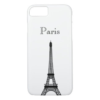 Eiffel Tower Silhoutte Phone & Ipad Cases