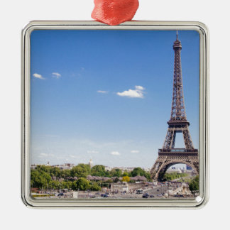 eiffel-tower Silver-Colored square decoration