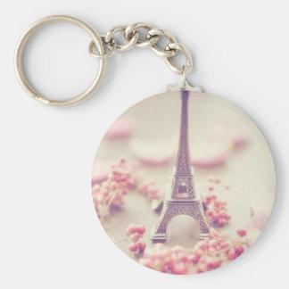 Eiffel tower simple key chain. key ring