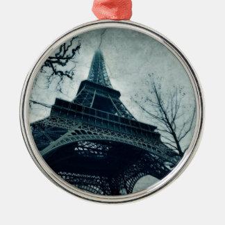 eiffel tower souvenirs christmas ornament