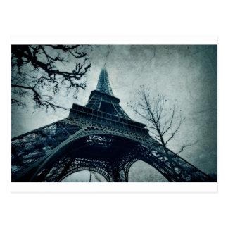 eiffel tower souvenirs postcard