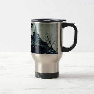 eiffel tower souvenirs travel mug