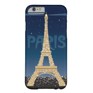 Eiffel Tower Sparkle iPhone 6 Slim Barely There iPhone 6 Case