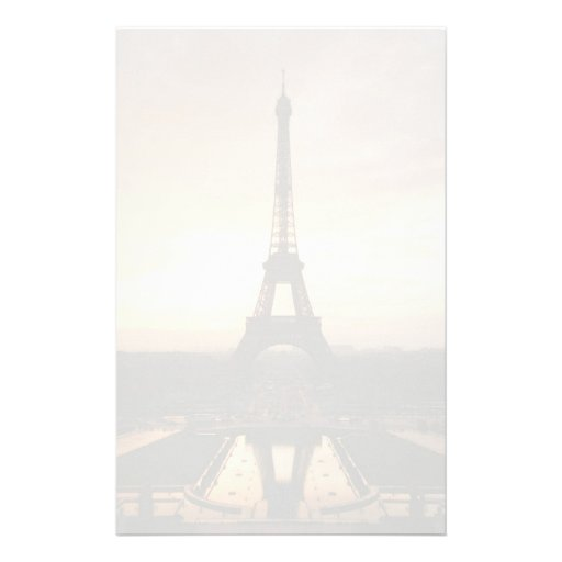 Eiffel Tower Stationery Paper
