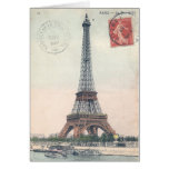Eiffel Tower Stationery Note Card