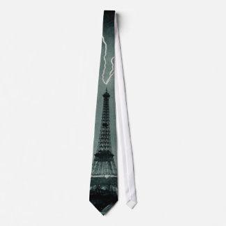 Eiffel Tower Struck Tie