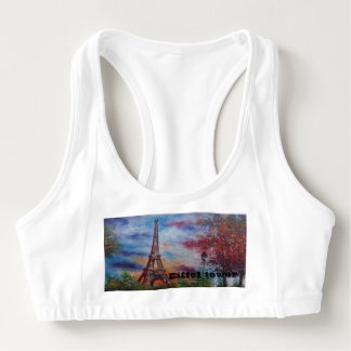 Eiffel tower,supporter bra sports bra