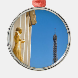 Eiffel Tower (Tour Eiffel) in Paris, France Christmas Ornament