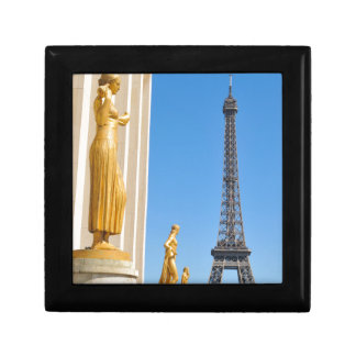 Eiffel Tower (Tour Eiffel) in Paris, France Small Square Gift Box