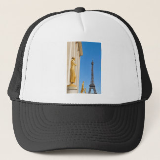 Eiffel Tower (Tour Eiffel) in Paris, France Trucker Hat