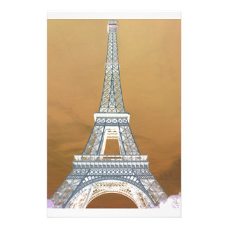 Eiffel tower Tower route Stationery