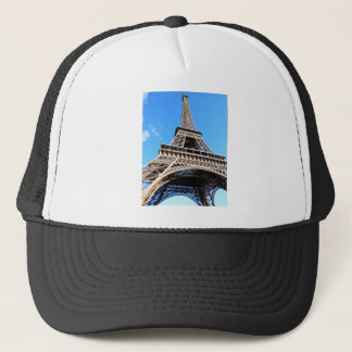 Eiffel tower trucker hat