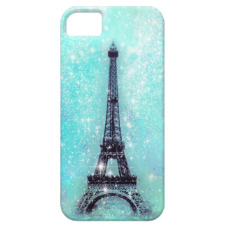Eiffel Tower Turquoise iPhone 5 Covers
