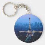 Eiffel Tower Twilight Key Chains