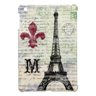 Eiffel Tower Vintage French iPad Mini Case