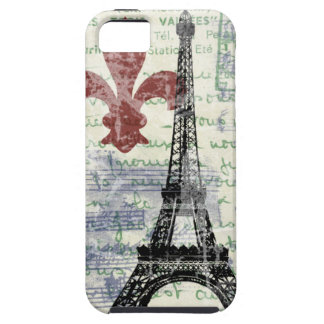 Eiffel Tower Vintage French iPhone 5 Case