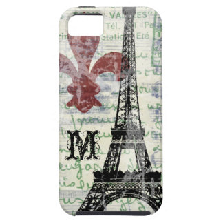 Eiffel Tower Vintage French iPhone Case
