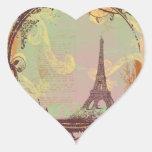 Eiffel Tower Vintage Style Sticker