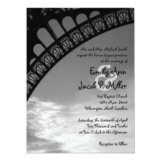 Eiffel Tower Wedding Invitations