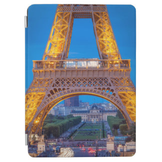 Eiffel Tower with Ecole Militaire beyond iPad Air Cover