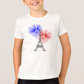 Eiffel Tower with Fireworks T-Shirt