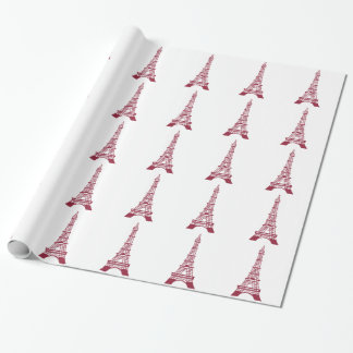 EIFFEL TOWER WRAPPING PAPER
