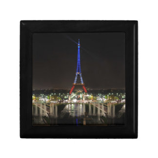 Eiffel towers small square gift box