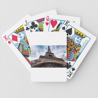 eiffeltower bicycle playing cards