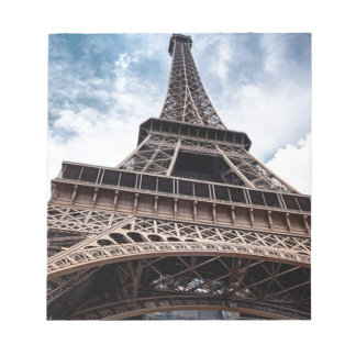 eiffeltower notepad