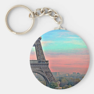 Eiffle Tower At bets Keychain
