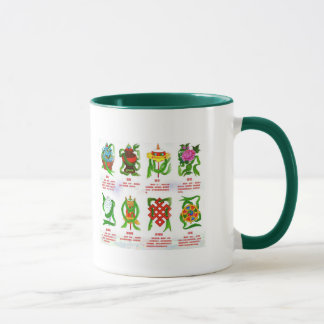 Eight Auspicious Symbols Mug