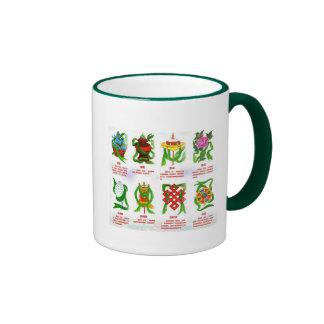 Eight Auspicious Symbols Mug