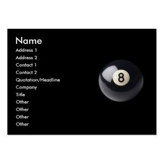 Eight-Ball Business Card