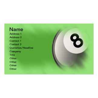 Eight Ball Business Cards