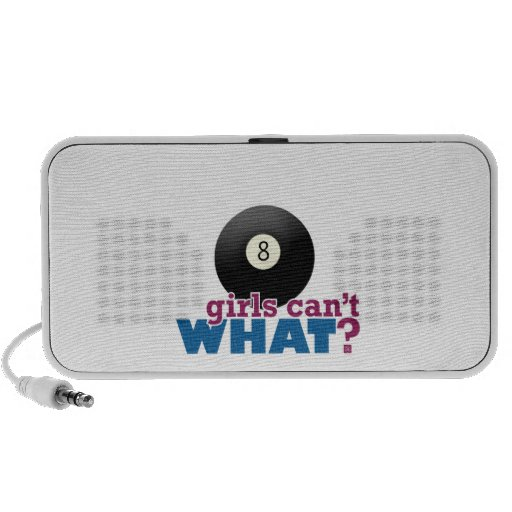 Eight Ball Girl iPod Speakers