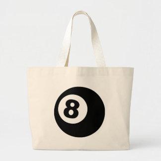 Eight Ball Jumbo Tote Bag