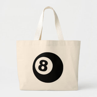 Eight Ball Large Tote Bag