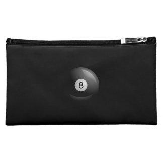 Eight Ball Pool Makeup Bags
