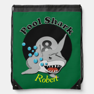 Eight Ball Pool Shark Rucksack
