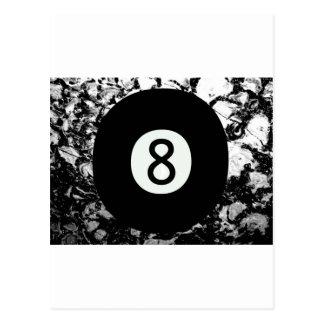 Eight-Ball Postcard