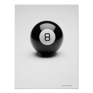 Eight ball poster