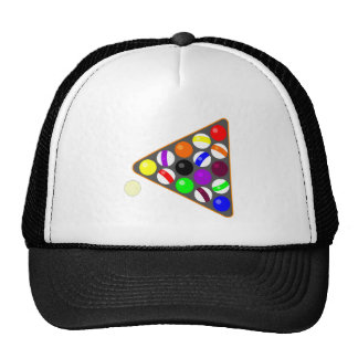 Eight Ball Rack Hats