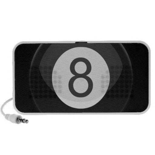 Eight ball rocking iPod speaker