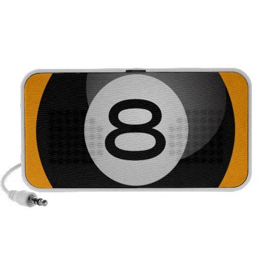 Eight Ball Notebook Speakers