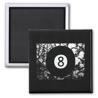 Eight-Ball Square Magnet