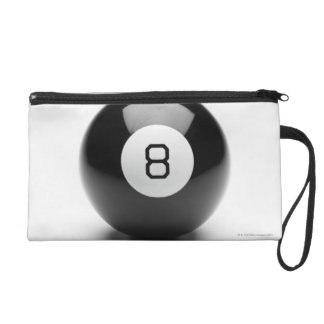 Eight ball wristlet